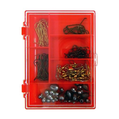 Eagle Claw Hook, Swivel and Sinker Assortment