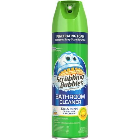 Scrubbing bubbles antibacterial lemon bathroom cleaner 22 for Msds scrubbing bubbles bathroom cleaner