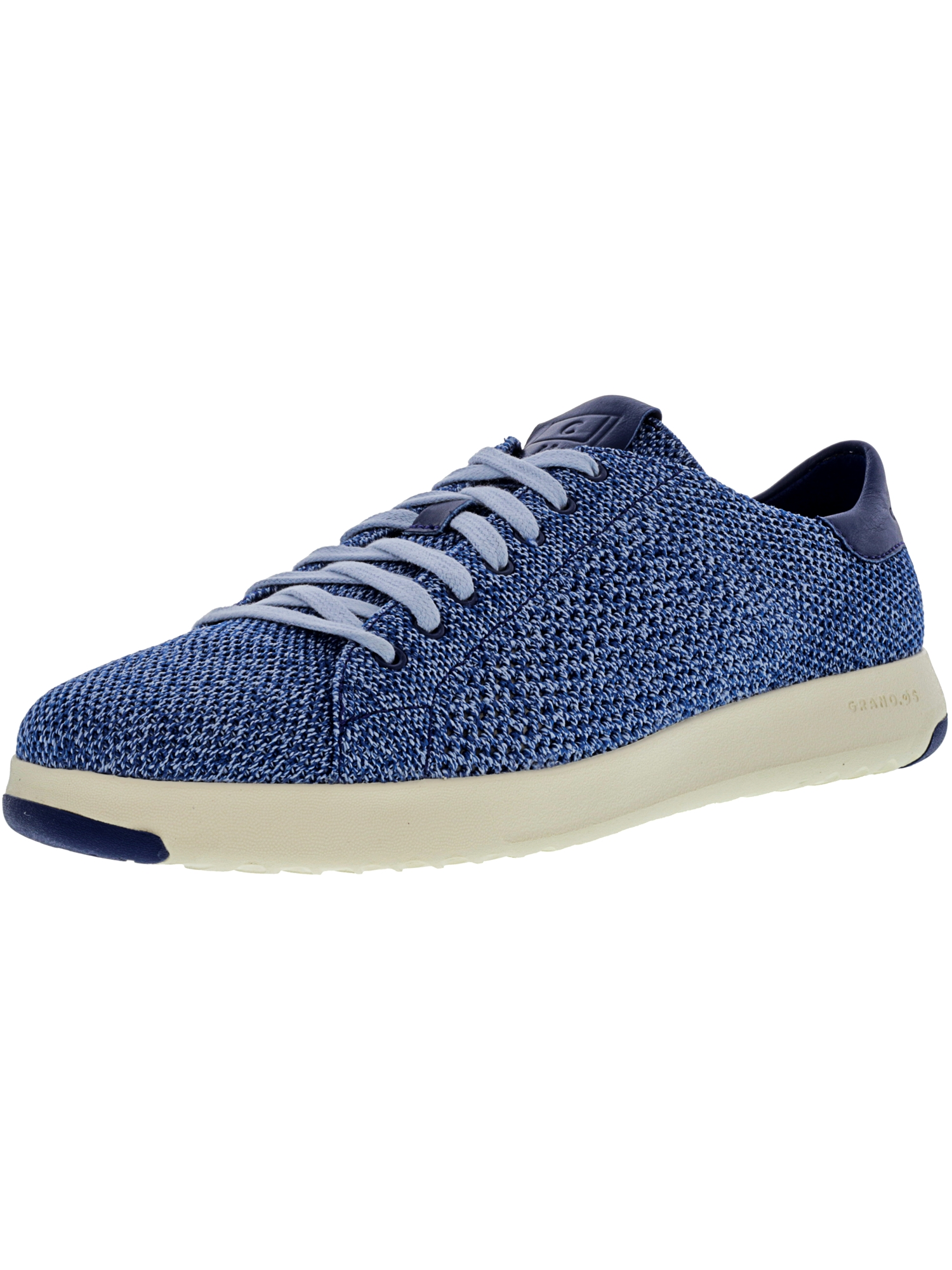 Cole Haan Men's Grandpro Tennis Stitchlite Navy Peony / Chambray Blue Ankle-High Fashion Sneaker - 10M