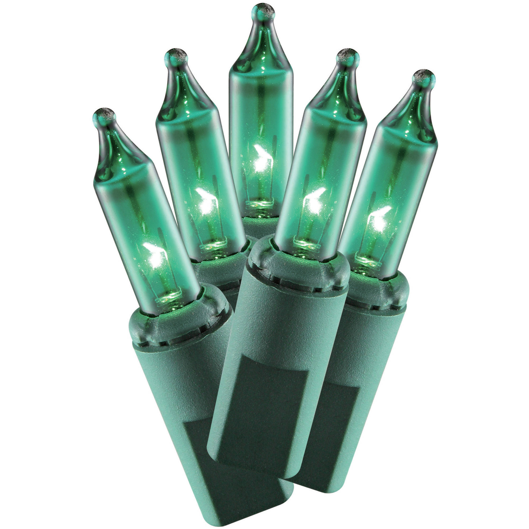 Holiday Time 300ct Mini Green Christmas Lights