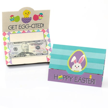 (Hippity Hoppity - Easter Bunny Party Money and Gift Card Holders - Set of 8)