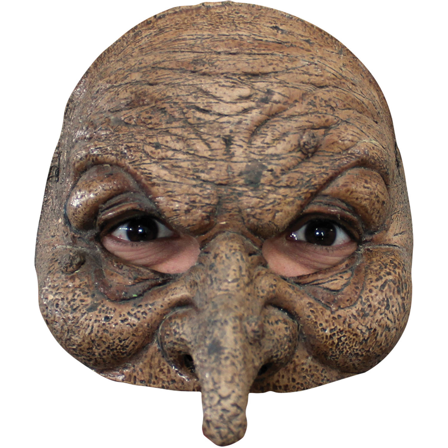 Wizard Latex Half Mask Adult Halloween Accessory