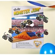 """Monster Jam 3D """"Stick the X"""" Game"""