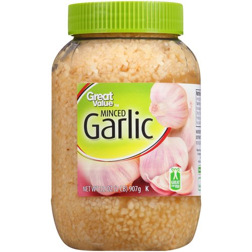 great value minced garlic 32 oz walmart com