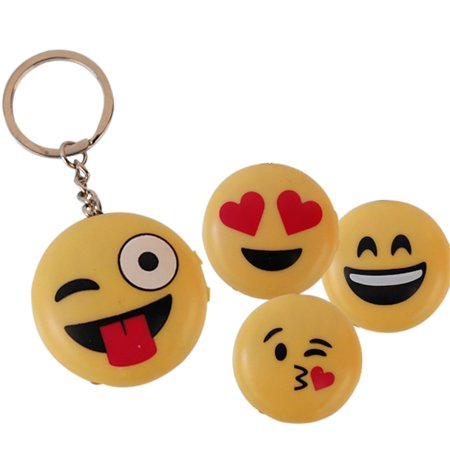 Creative Smiley Emoji Fool's Day Funny & Prank Tools, Electric Shock Toys with LED Lights and Laser Heart eyes - image 4 de 6