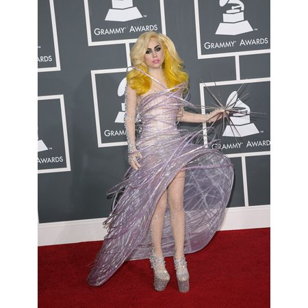 Lady Gaga At Arrivals For 52Nd Annual Grammy Awards - Arrivals Staples Center Los Angeles Ca January 31 2010 Photo By Adam OrchonEverett Collection