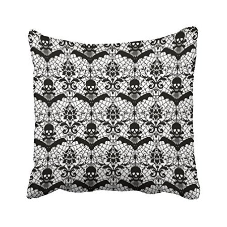 WinHome Halloween Throw Pillow Covers Cushion Cover Case 20x20 Inches Pillowcases Two Side - Halloween Pillow