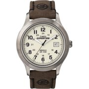 8988bf26b Mens Expedition Metal Field Watch, Brown Leather Strap - Walmart.com