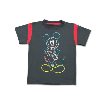 Short Sleeve Mickey Mouse Graphic Tee Shirt (Little Boys) (Mickey Mouse Calendar)