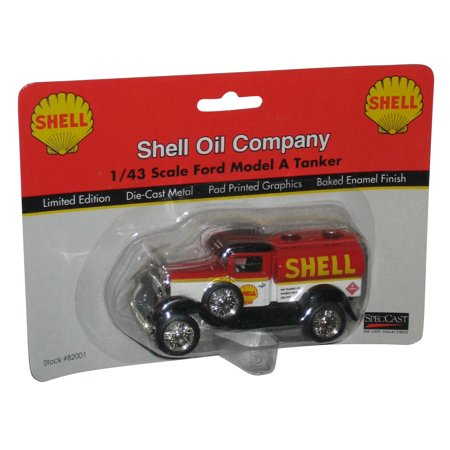 Ford Oil Tanker - Shell Oil Company 1/43 Scale Ford Model A Tanker - (Die Cast Metal 1999 SpecCast)