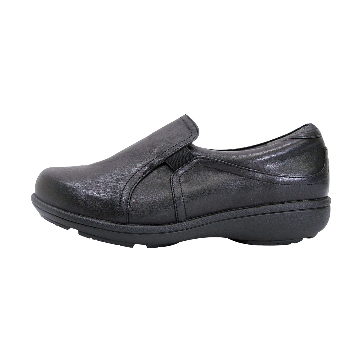 PEERAGE Therese Women Extra Wide Width Comfort Loafer BLACK 10