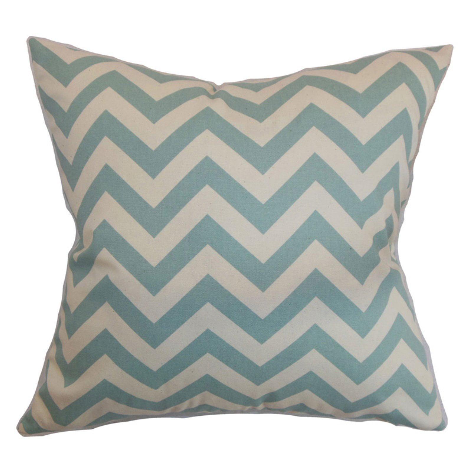 The Pillow Collection Xayabury Zigzag Pillow