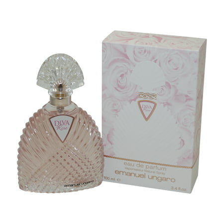 Diva Rose Eau De Parfum Spray 3.4 Oz / 100 Ml