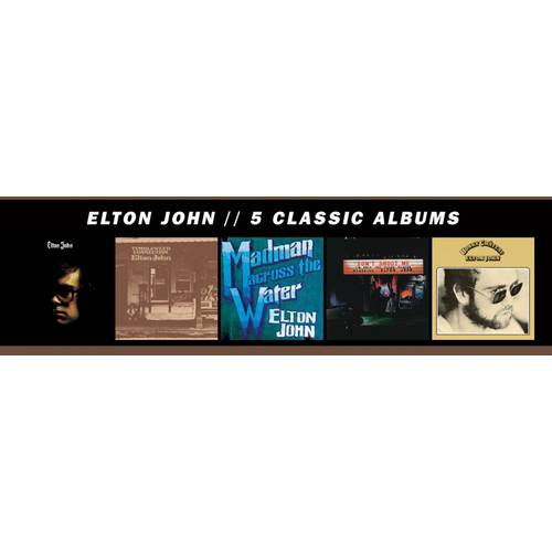 5 Classic Albums (1970-1973) (5 Disc Box Set)