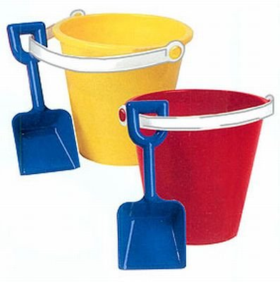 "Pail & Shovel 6"" (12-Pack)"