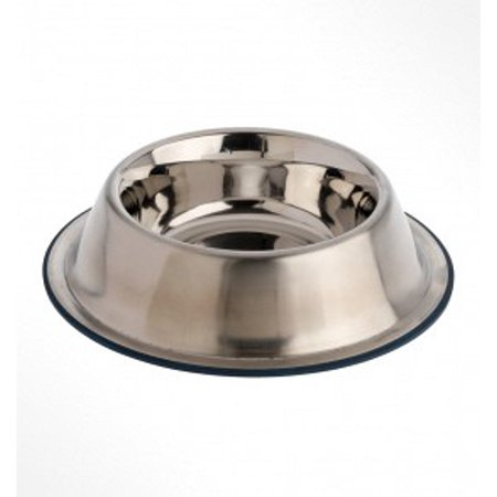 OurPets DuraPet Premium No-Tip Stainless Steel Pet Bowls