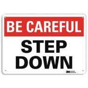 LYLE U7-1038-RA_14X10 Safety Sign, Reflective Alum, 10inHx14inW