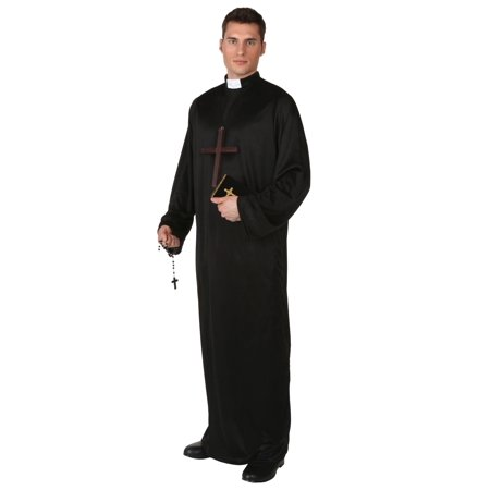 Plus Size Pious Priest - Celtic Priests Halloween