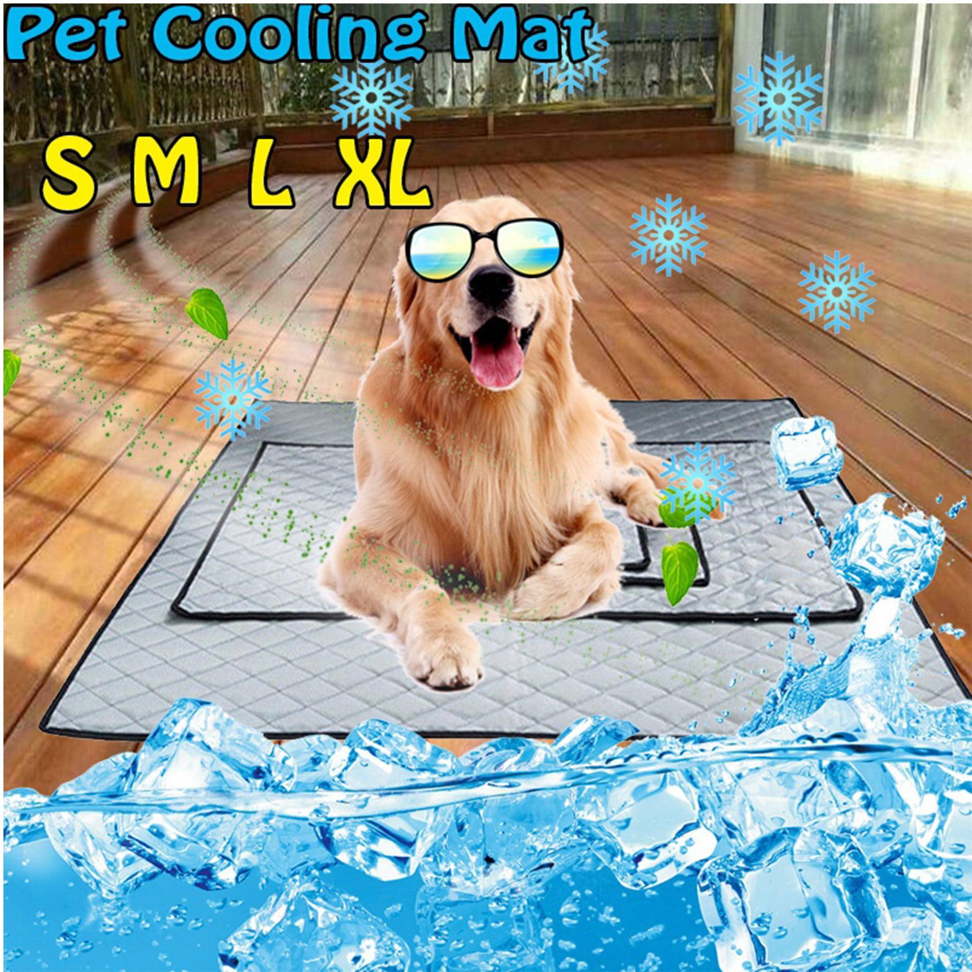 NK Pet Dog Cat Cool Mat Self Cooling Gel Pad Dog Bed Mattress Breathable Comfortable