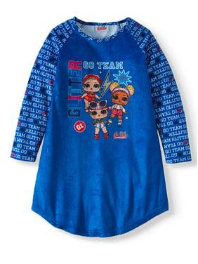 L.O.L. Surprise! Girl's Raglan Sleeve Pajama Nightgown (Little Girls & Big Girls)