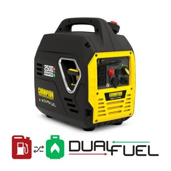 Champion Power Equipment 2500-Watt Dual Fuel Inverter Generator