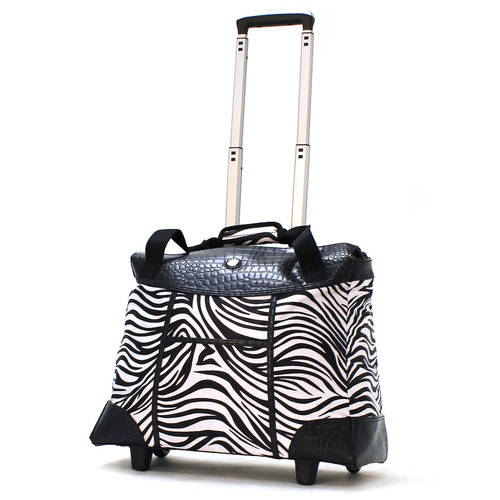 Olympia USA Deluxe Luggage Fashion Rolling Tote