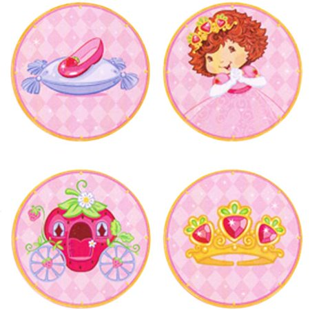 Strawberry Shortcake 'Berry Princess' Wall Decorations (4pc) for $<!---->