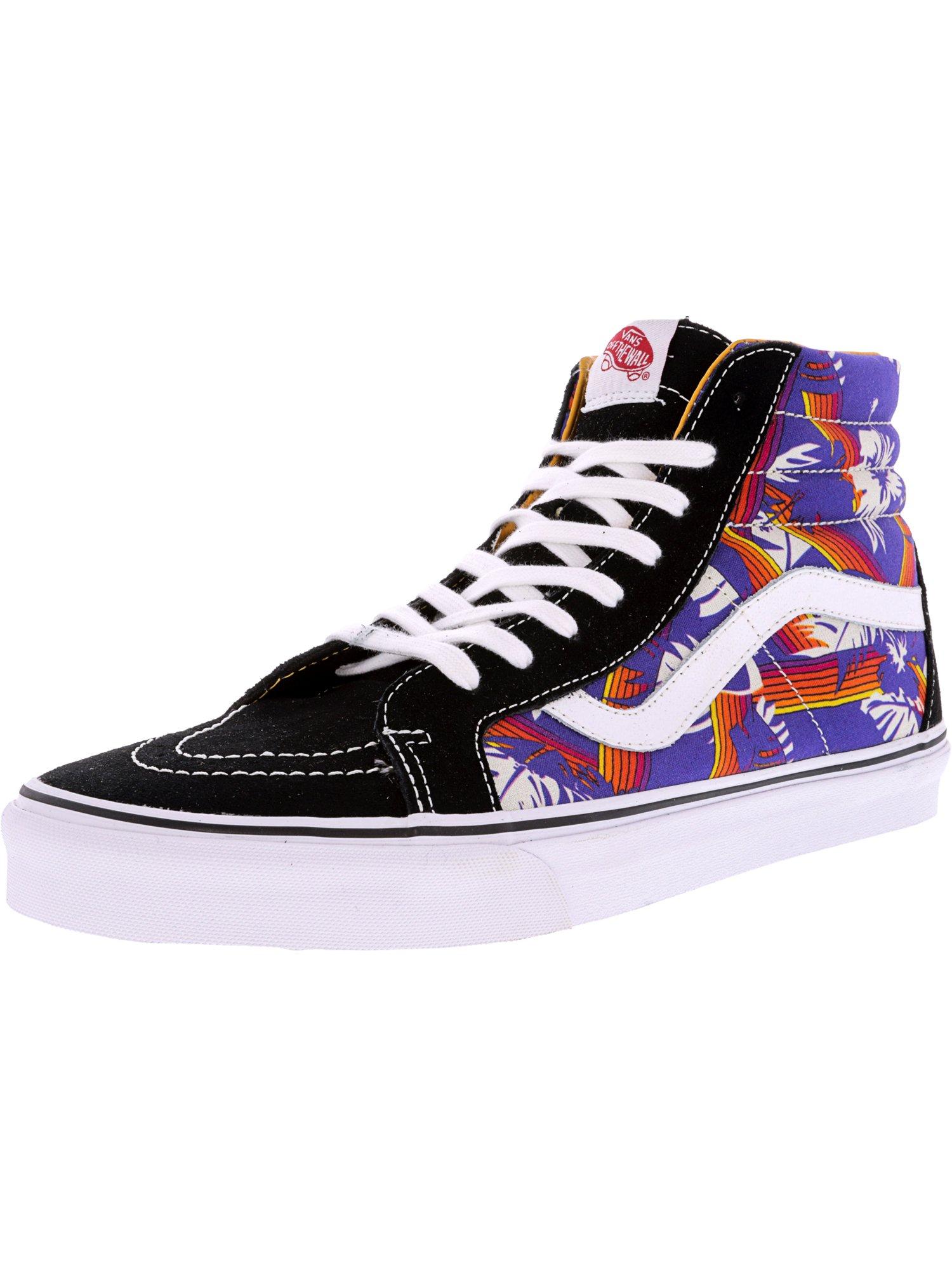 5fb31cecb2ed ... Vans Men s Sk8-Hi Reissue Van Ankle-High Doren Skull Snowflake   Black  Ankle ...