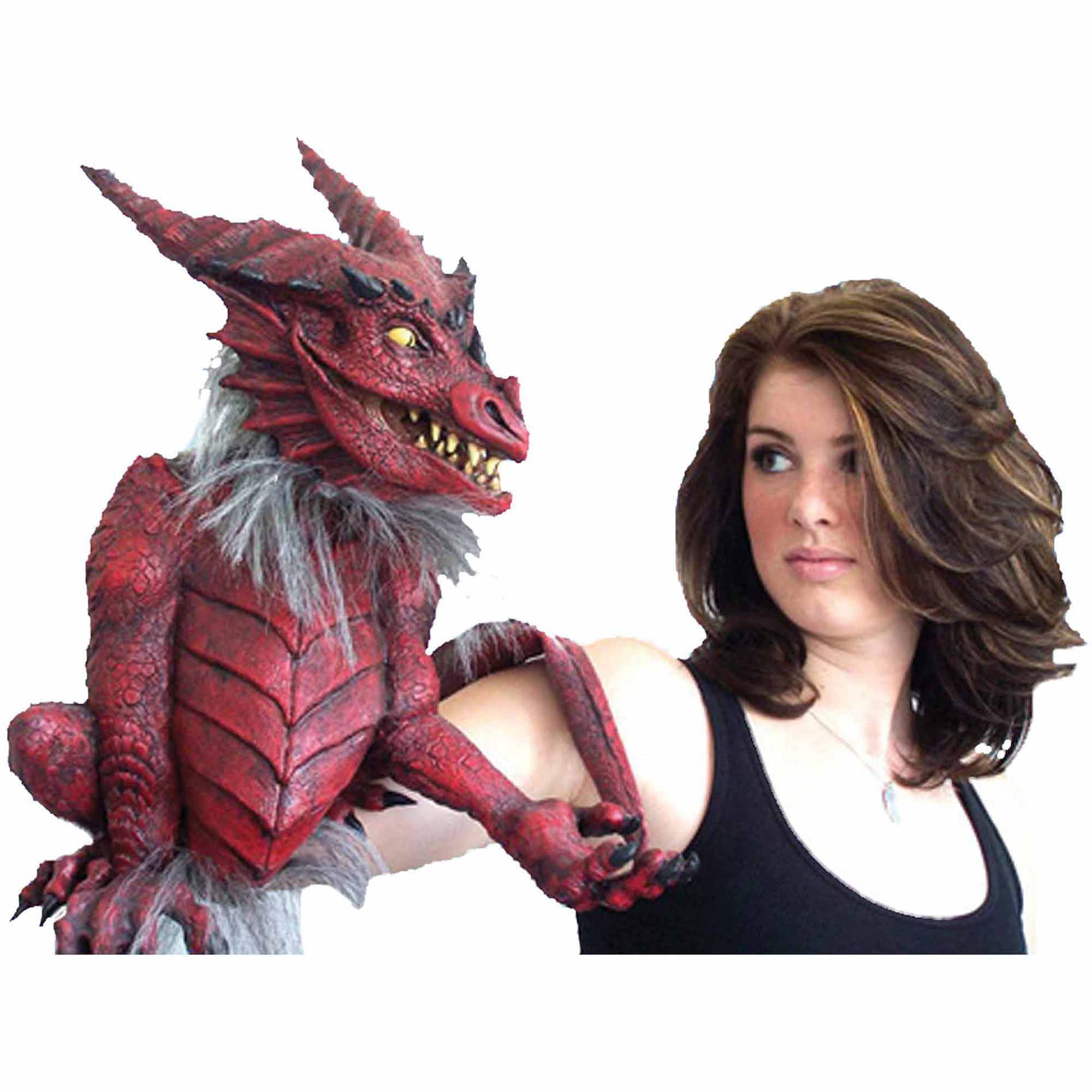 Dragon Puppet Adult Halloween Accessory by Generic