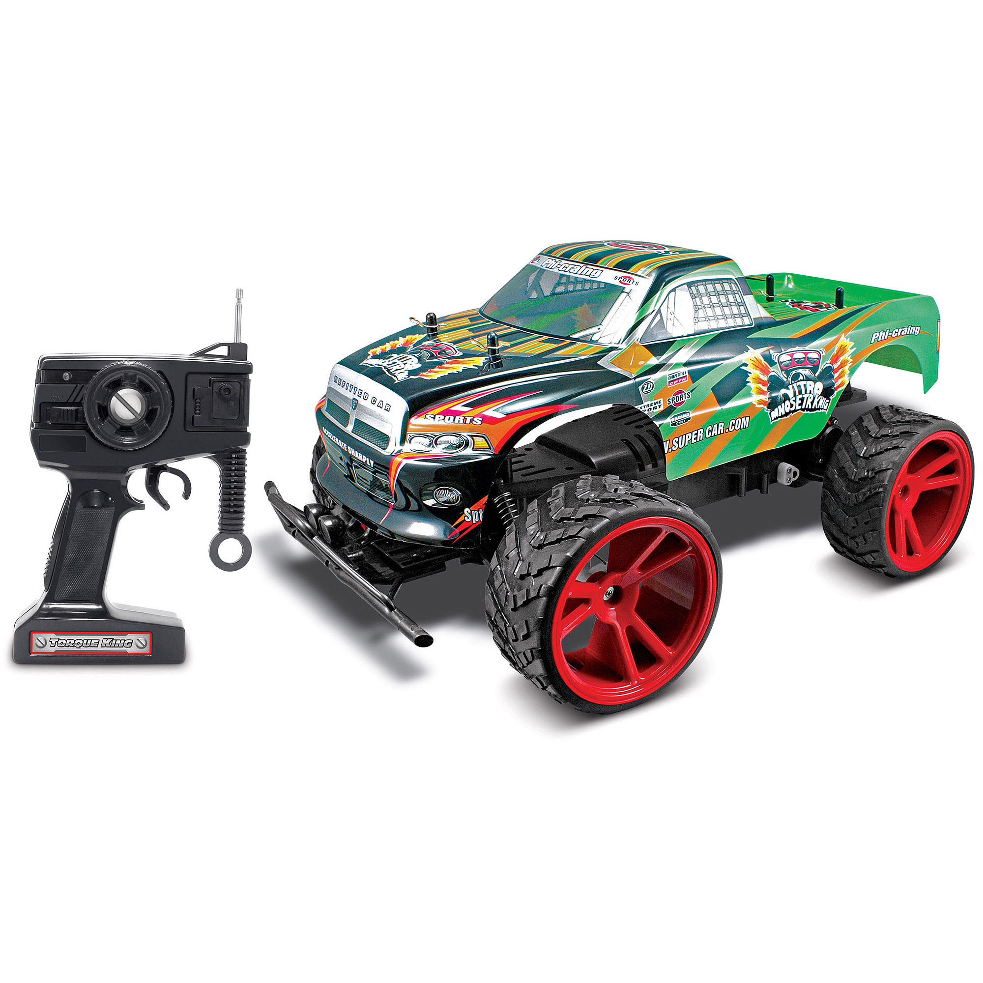 World Tech Toys Torque King 1:10 RC Monster Truck