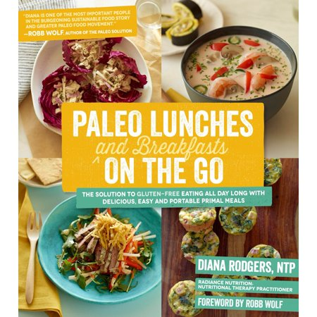 Paleo Lunches and Breakfasts On the Go : The Solution to Gluten-Free Eating All Day Long with Delicious, Easy and Portable Primal Meals - Paleo Halloween Meals