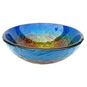 Eden Bath EB_GS17 Bathroom True Planet Tempered Glass Sink Bowl