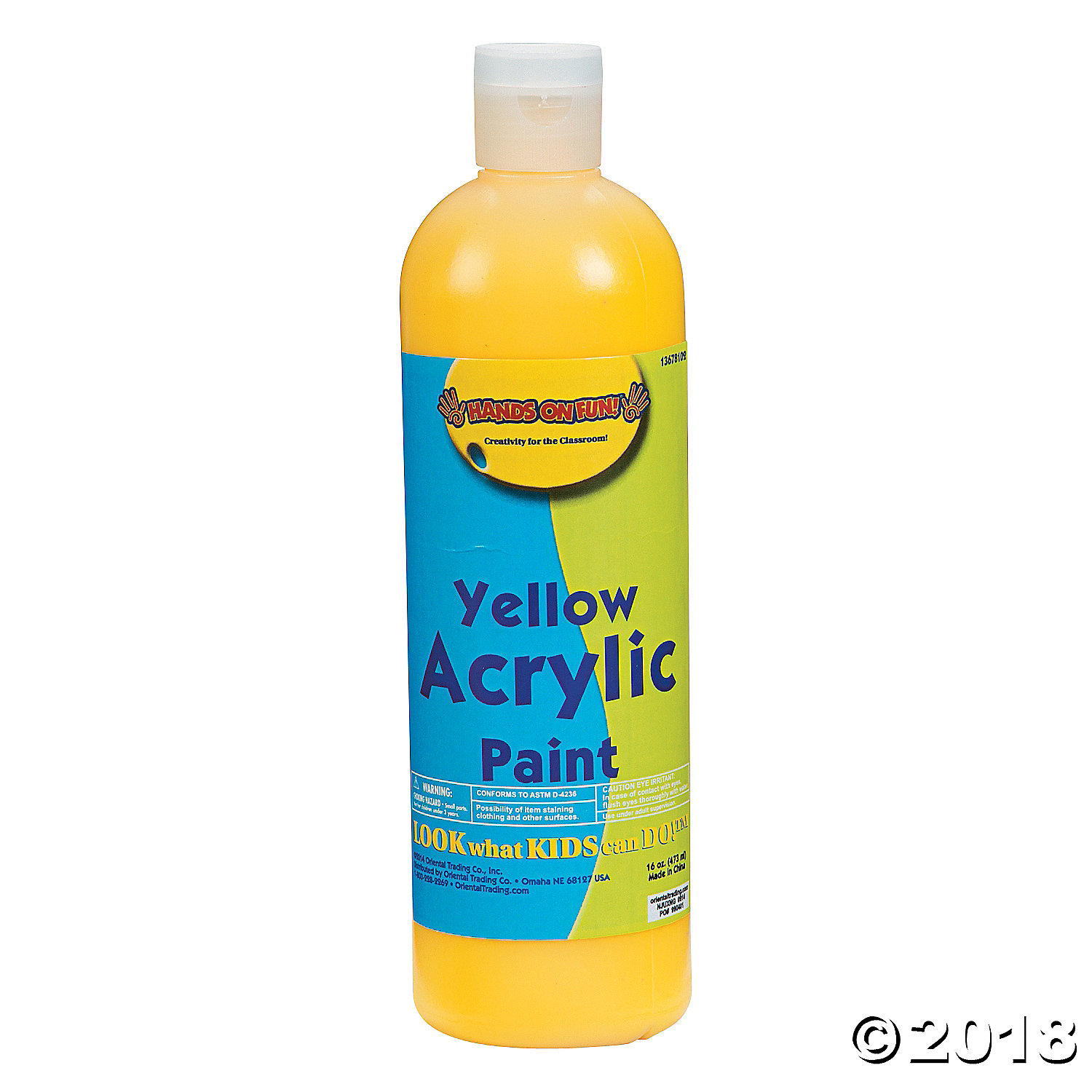 Yellow Acrylic Paint(pack of 1)
