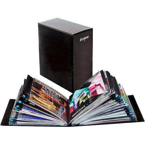 Discgear 100-CD / DVD / Game Literature Album