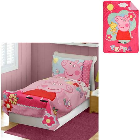 sale retailer 40ad0 c5cd6 UPC 092317116048 - Peppa Pig Toddler Bed Set with Bonus ...