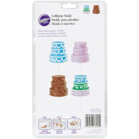 Lollipop Mold-3D Cake Pop 3 Cavity (2 Designs) (Halloween Cake Pops Pinterest)