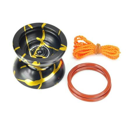 - Magic Yo Yo N11 Aluminum Alloy Professional Yo Yo - Gold Black