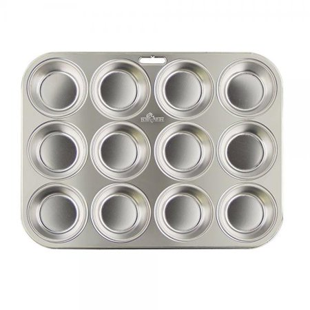Fox Run 4868 Stainless Steel Muffin Pan Silver 1 Stainless Muffin Pan