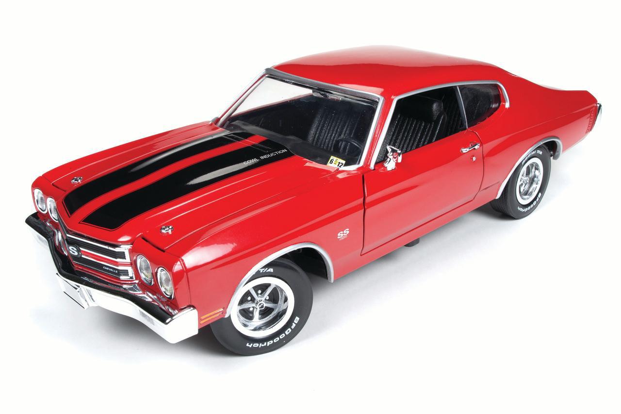1:18 scale Die Cast 1970 Chevy Chevelle (Jack Reacher) by Round 2 LLC