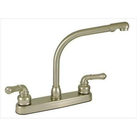 8 In Faucet : AMER BRASS NN800RSN 8 In. Nickel Kitchen Faucet - Walmart.com