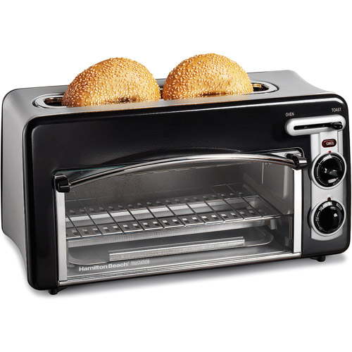 Hamilton Beach Toastation 2-in-1 2-Slice Toaster & Oven, 22703