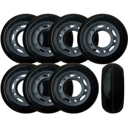 Roller Hockey Goalie Wheels 60mm 82a Set Of 8 For Inline Skates
