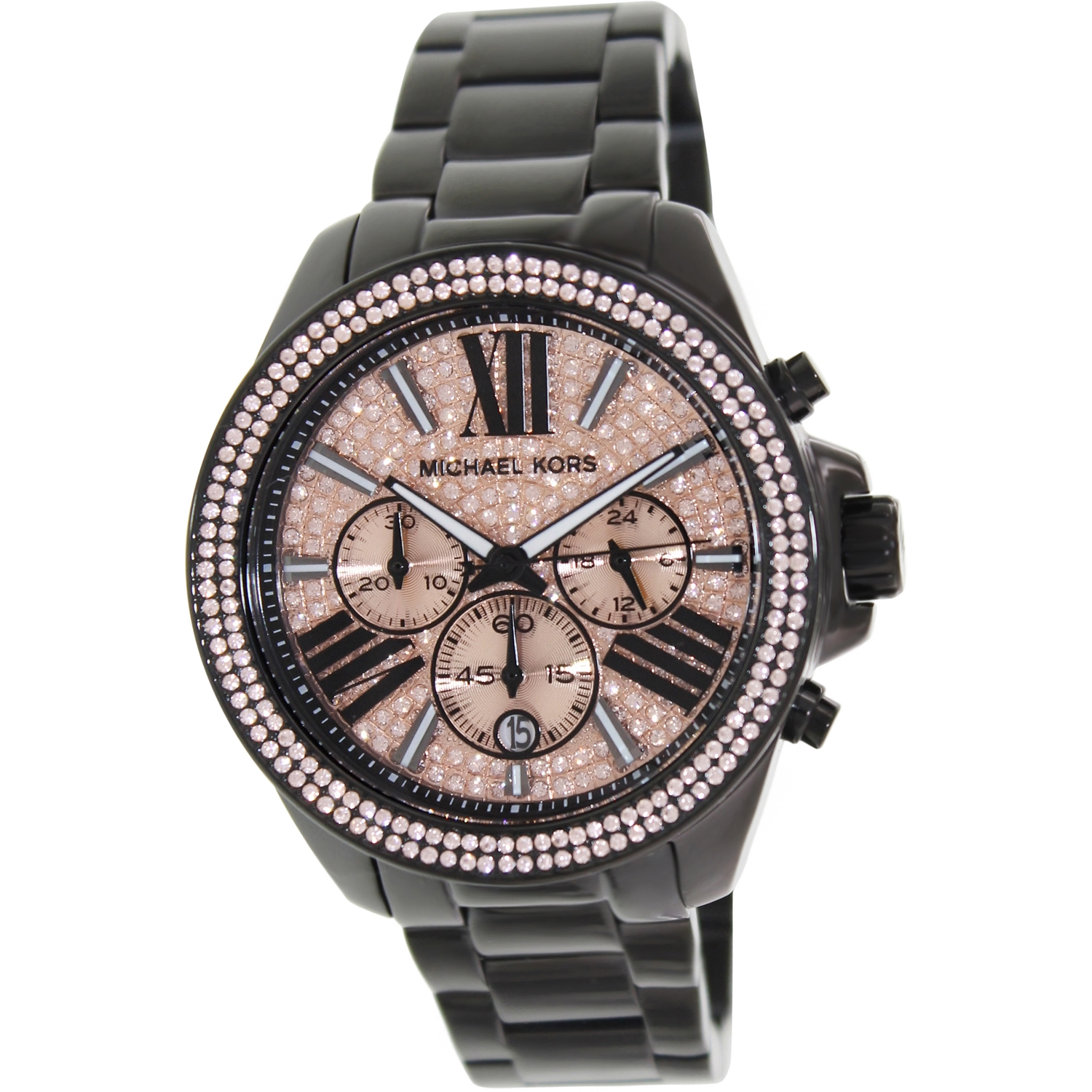 Michael Kors Women's Everest MK5879 Black Stainless-Steel Quartz Fashion Watch