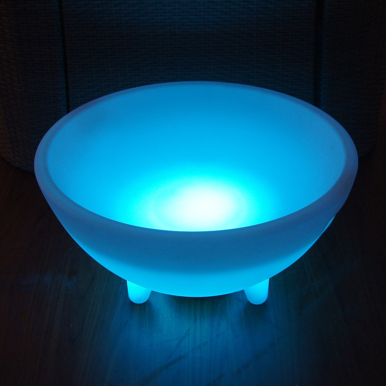"20"" Round LED Ice Bucket"