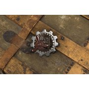 Steampunk Large Gear Propeller Pin Costume Jewelry Adult One Size