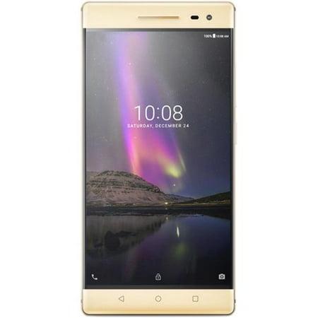 Lenovo Phab 2 Pro 4G LTE 64GB Dual-SIM Unlocked Android 6.0 Smartphone - Gold