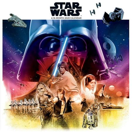 Trends International 2020 Star Wars Wall Wall (Star Wars Day At A Time Calendar 2016)