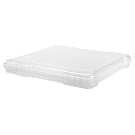 - IRIS Scrapbook Portable Project Case for 8 x 8 Inch Scrapbook Paper, Clear Set of 6