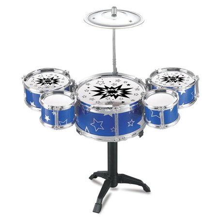 Kids Toy Jazz Drum Kit Musical Instrument Toy Early Educational Toy HFON