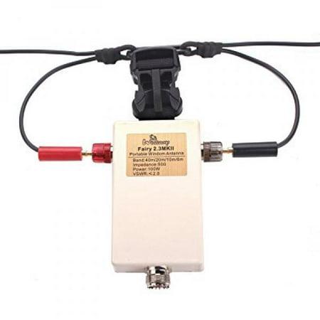 Portable Windom Antenna QRP Ft-817 Eleacraft KX3 Quad-band portable  shortwave Portable HF antenna 40m 20m 10m 6m